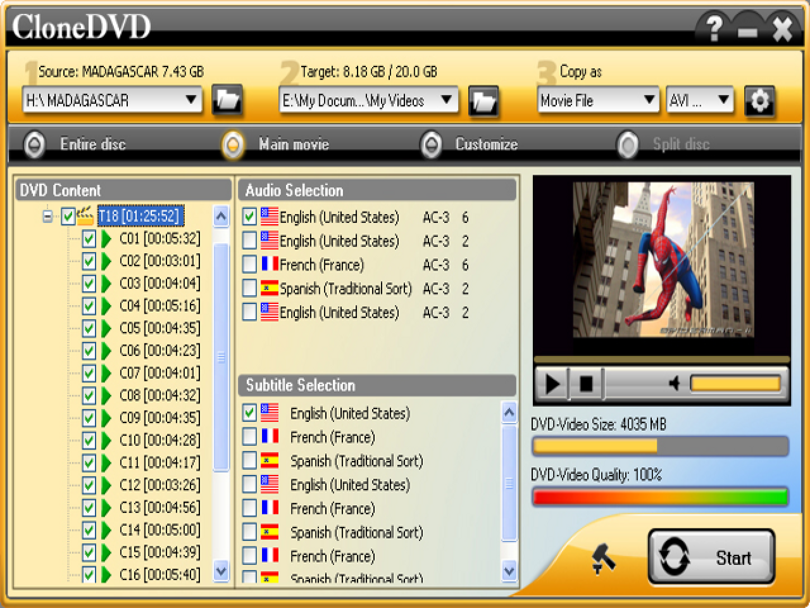 CloneDVD 4.3.0.3 Multilingual скачать + кряк CloneDVD 4.3.0.3 Multilingual downloa