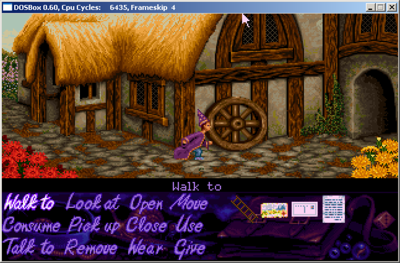 DOSBox – Adventura Simon The Sorcerer