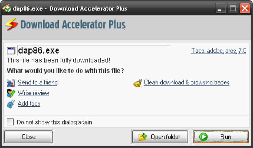 Download Accelerator Plus (http://www.swmag.cz)