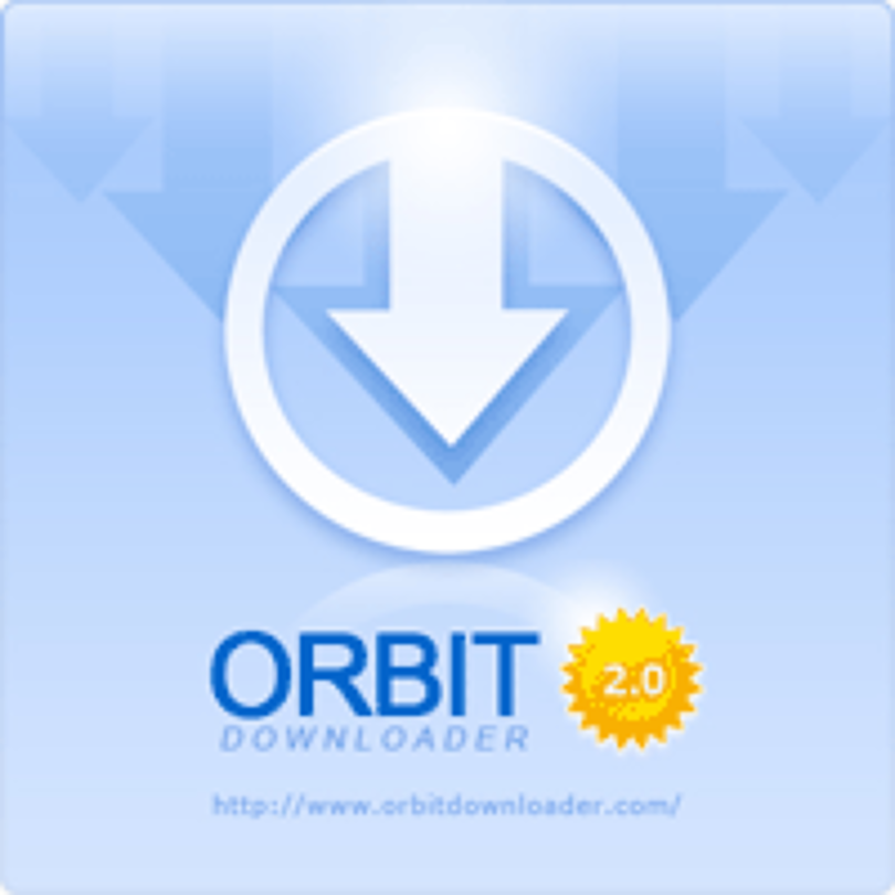 logo aplikace Orbit Rich Media Downloader