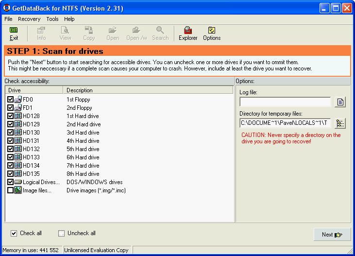 Кряк Для Getdataback 3.63