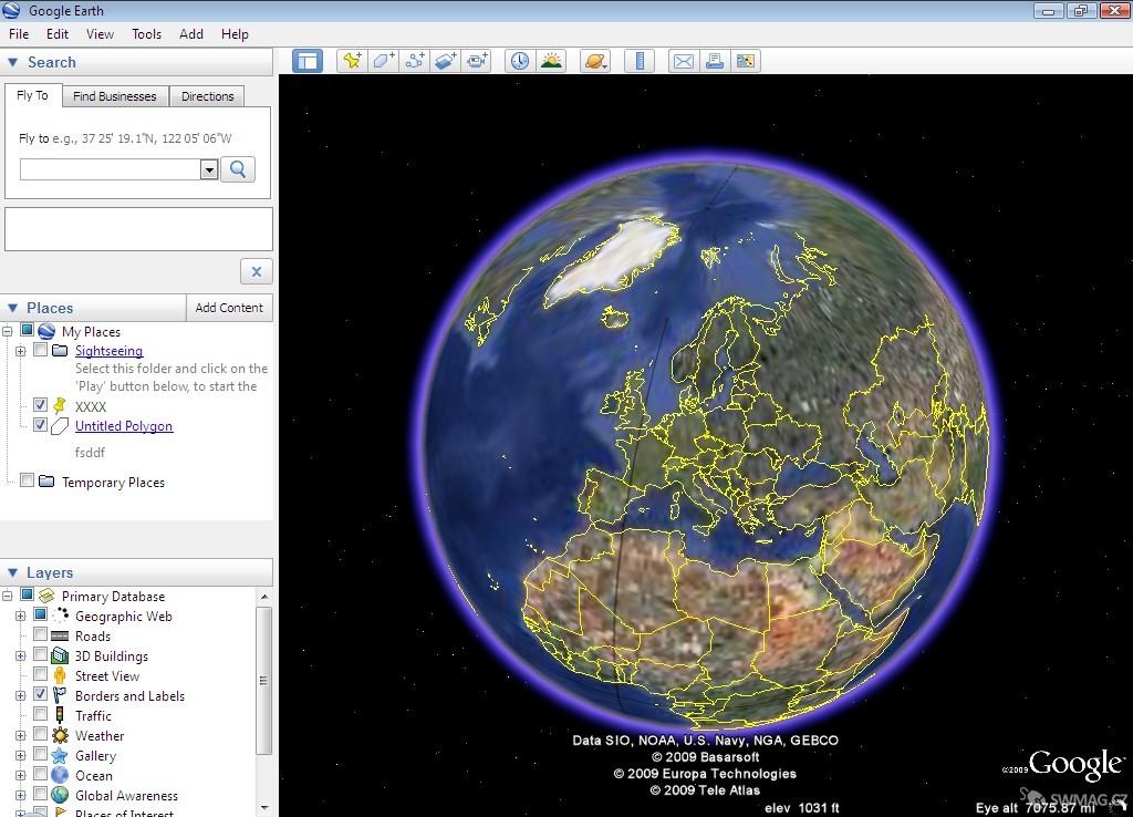 Google Earth v recenzi