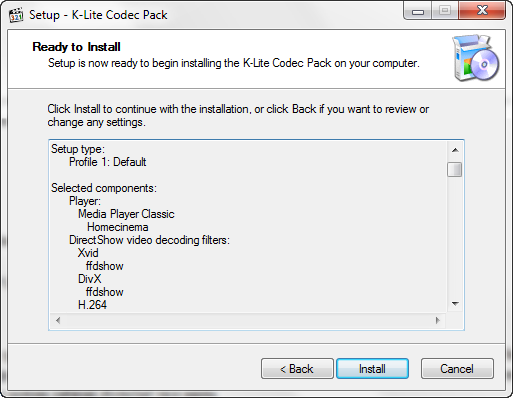 K lite codec pack aneb jak na probl my s multim dii - K lite codec media player classic ...
