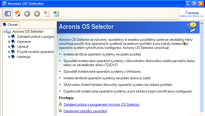 OS Selector - Acronis Disk Director Suite 10 - 3.díl