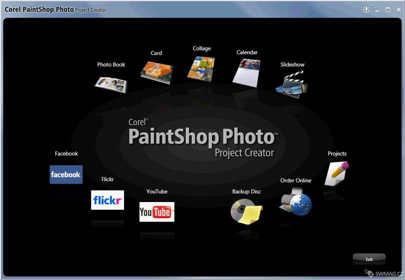Paint Shop Photo Project Creator