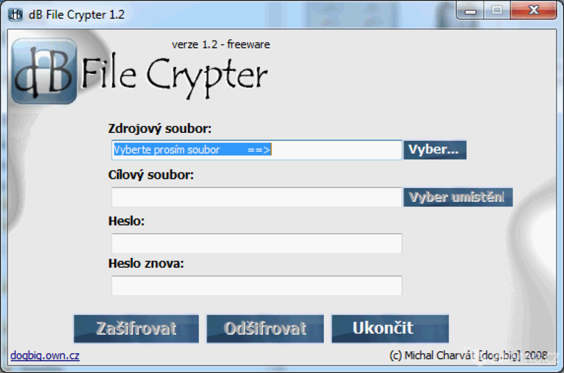 dB File Crypter