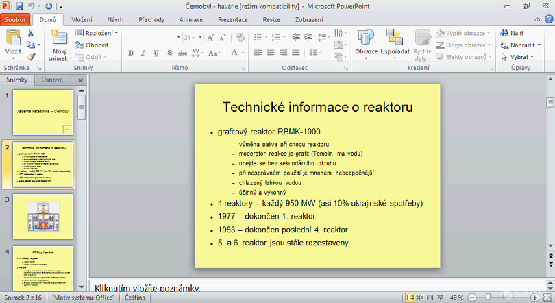 MS Office 2010 – PowerPoint