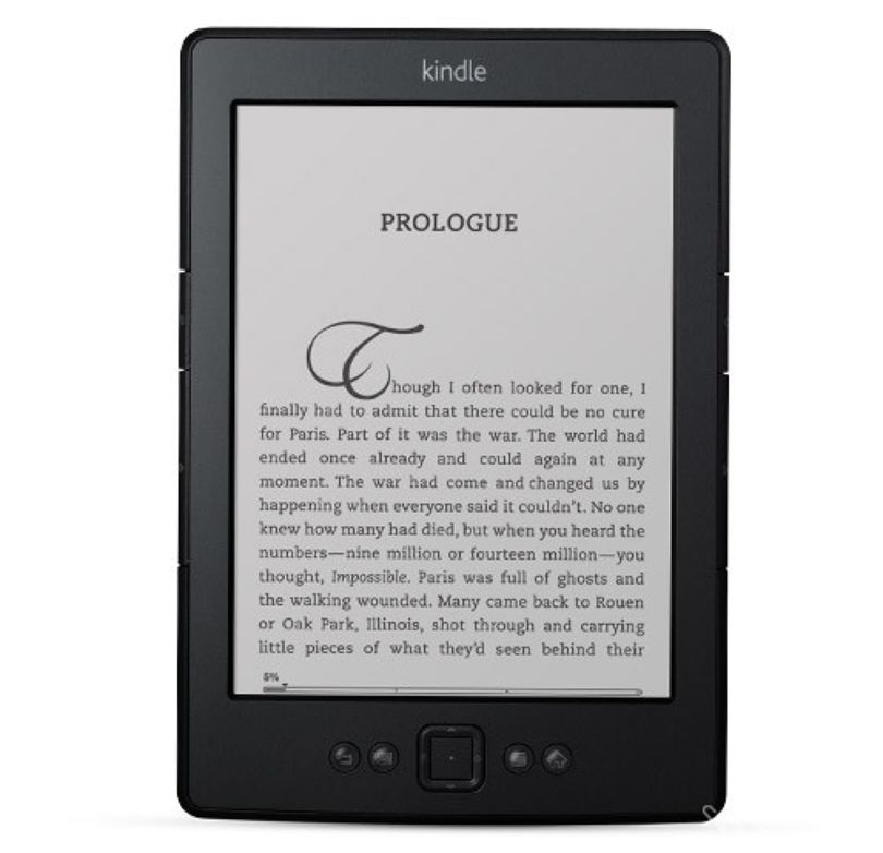 Amazon Kindle – čtečka e-knih – zdroj: amazon.com